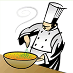 logo for A Chef's Table with Jim Coleman